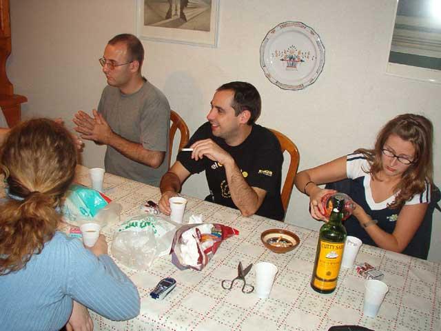 Reunión en el comedor I