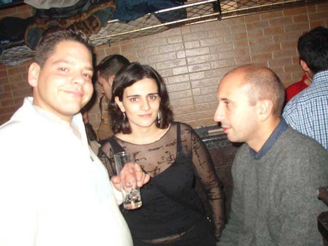 Guillermo, Celia y David