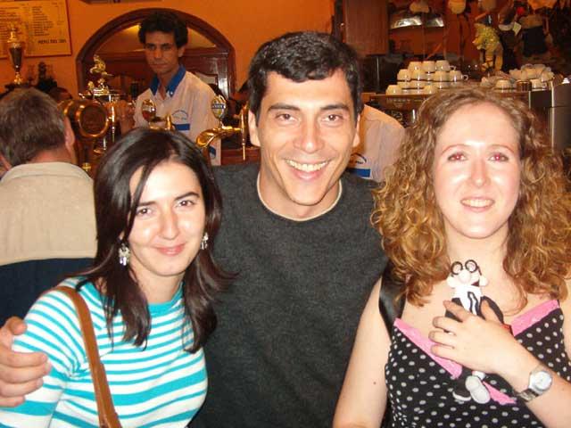 Maribel, Javi y Pili