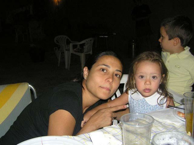 Con la pequeña