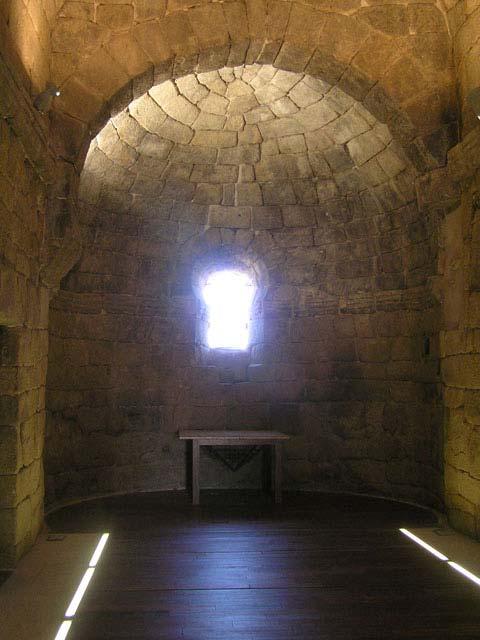 Interior de la ermita de Melque