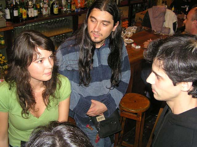 En un bar del centro