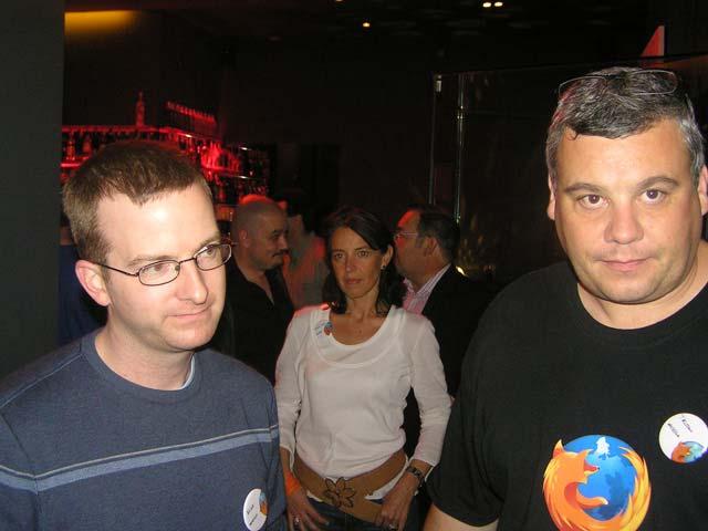 Representantes de Mozilla