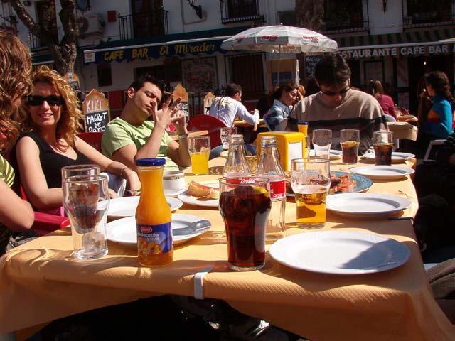 Bar kiki en el mirador de San Nicolás