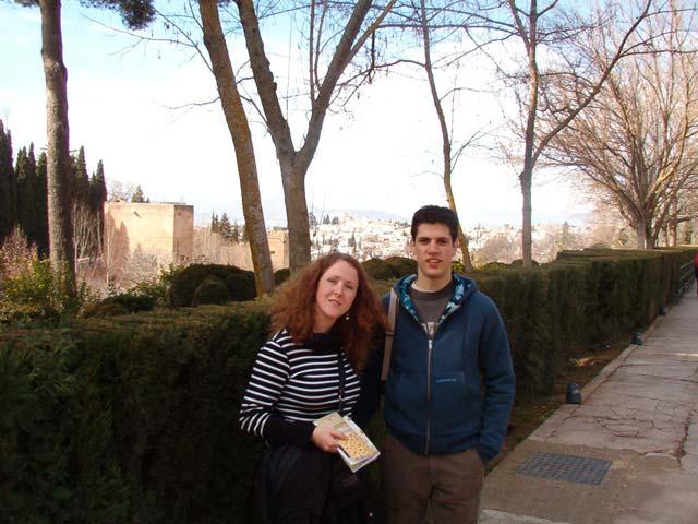 Entrada a los Jardines del Generalife