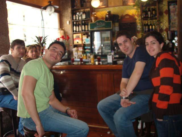 Bar cerca de la plaza Nueva