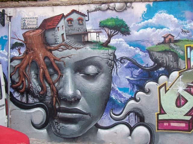 Graffiti granadino