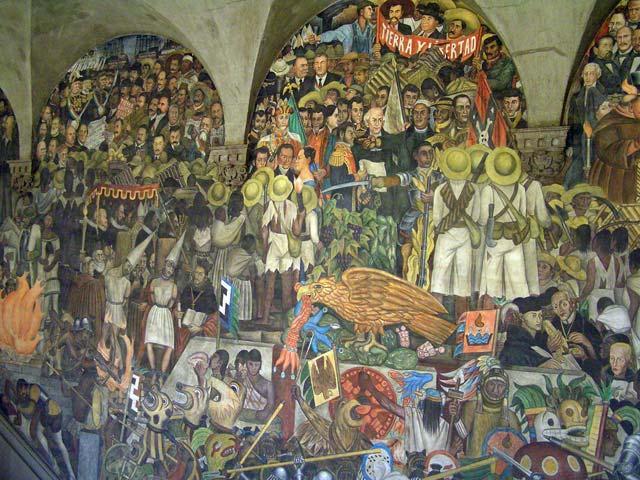 Striptm mural de diego rivera en el palacio nacional for Diego rivera mural palacio nacional