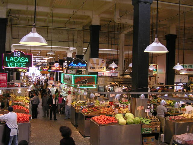 Grand Central Market en Broadway