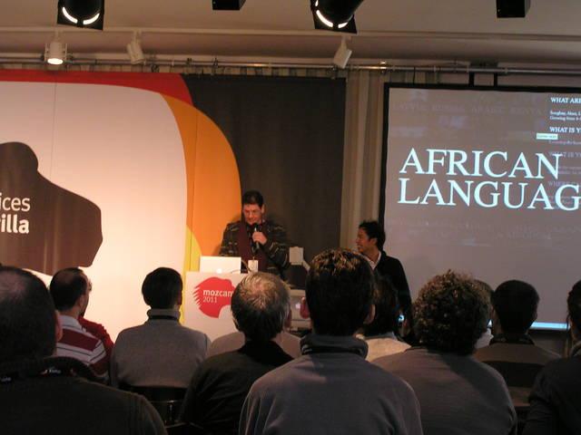 Comunidades, lenguas africanas