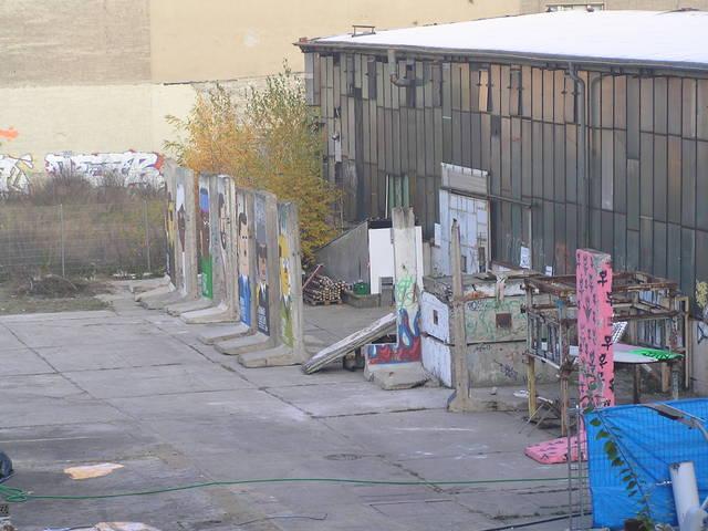 Trozos del muro de Berlín