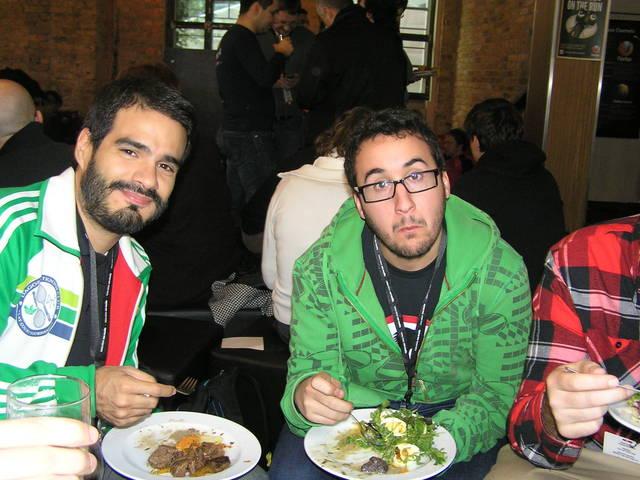 Durante la comida