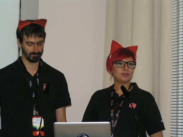 Presentación charla de Mozilla Hispano
