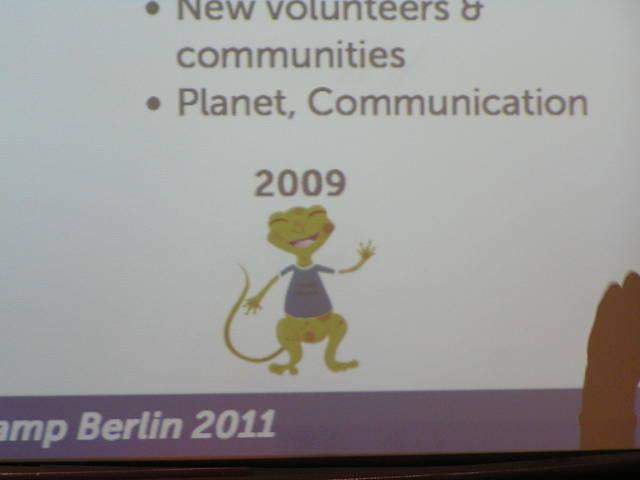Rumbo en la presentación charla de Mozilla Hispano