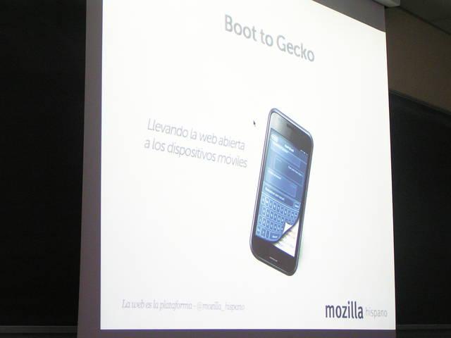 Charla Boot2Gecko