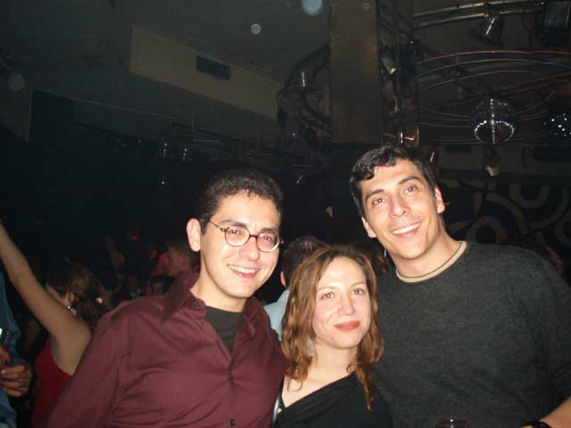 Alberto, Bea y Javi