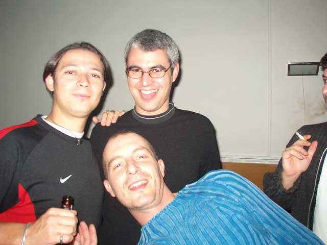 Dani, Chafi y Javi