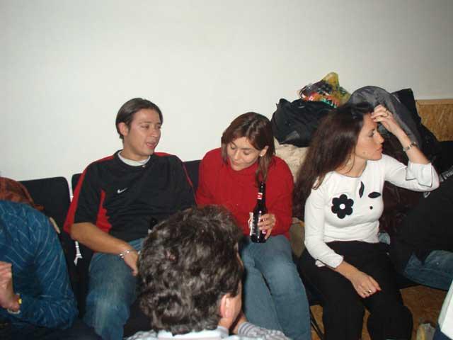 Dani, Begoña y Elena