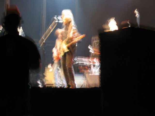 Patti Smith en concierto I