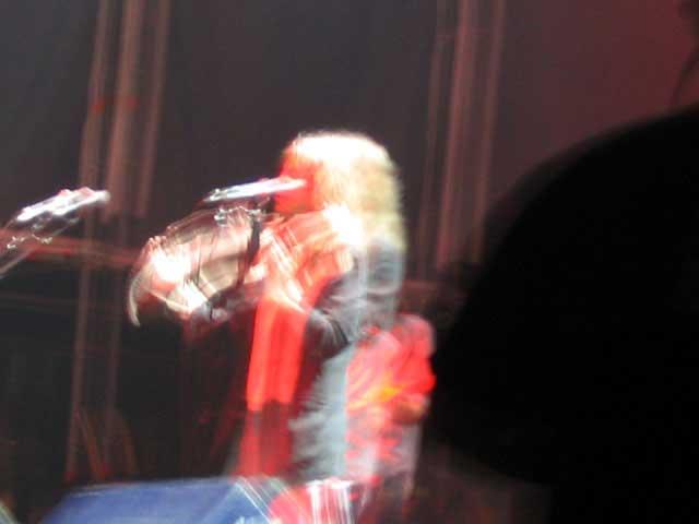 Patti Smith en concierto II