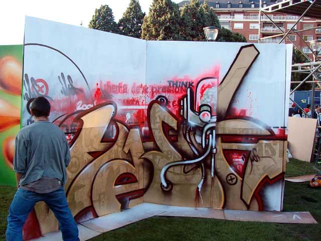 Mast pintando II