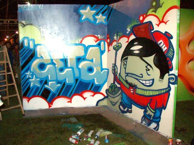Graffiti de Zeta
