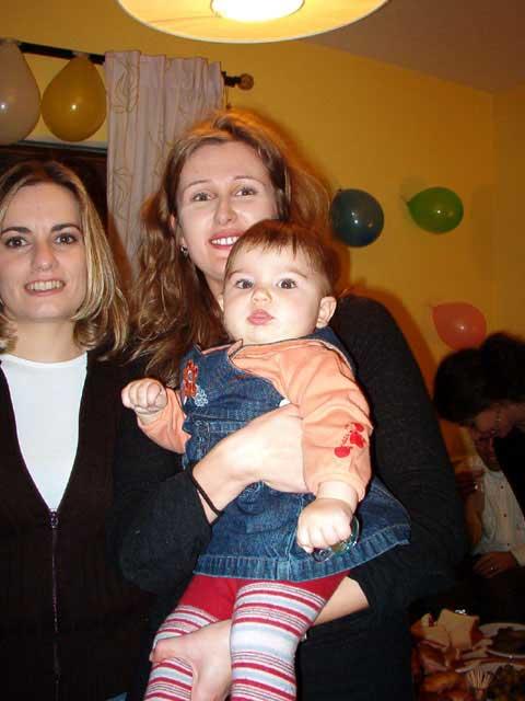 Marisa, Cris y Anita