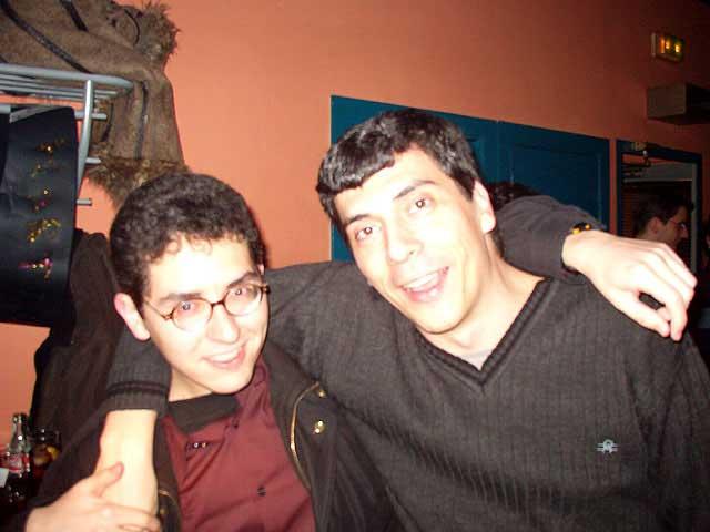 Alberto y Javi