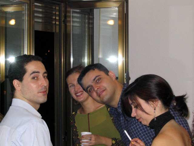 Alberto, Cristina, Luis y Teresa