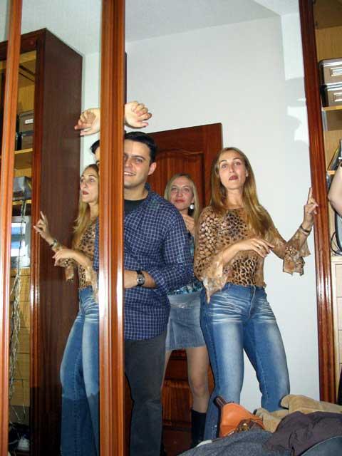 Luis, Bea y Ana