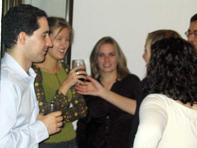 Alberto, Cristina y Marisa