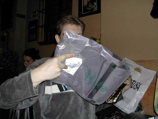 Raúl y su mochila I