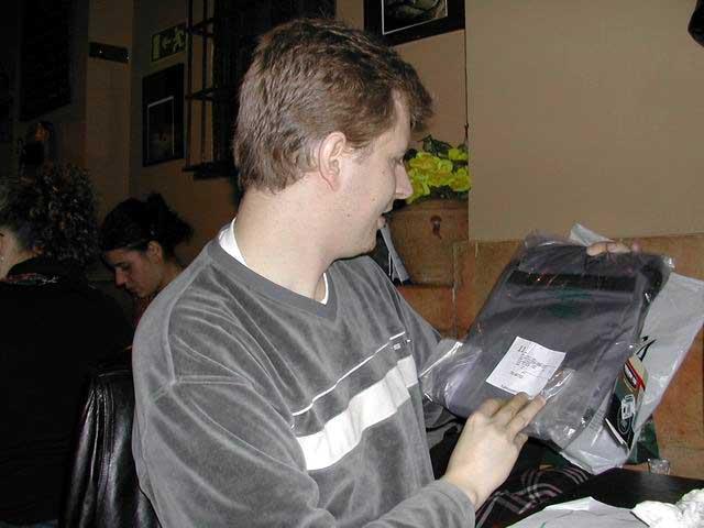 Raúl y su mochila II