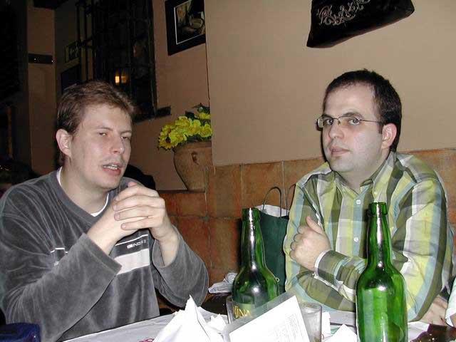 Raúl y Alex