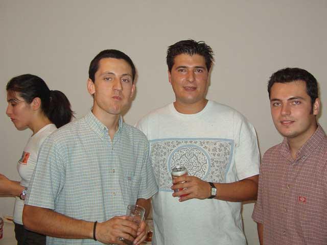 Jose, Alvaro y Segio