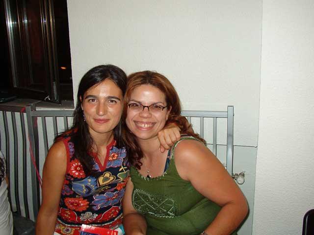 Mónica y Sara