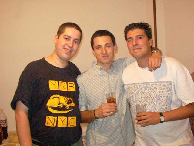 Fer, Jose y Alvaro