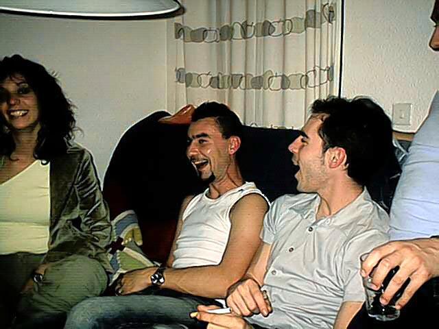 De risas