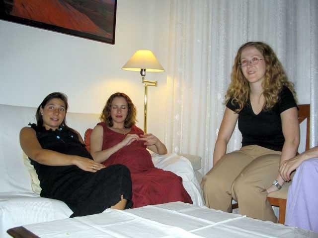 Marta, Silvia y Pili