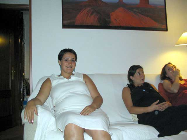 Lourdes, Marta y Silivia