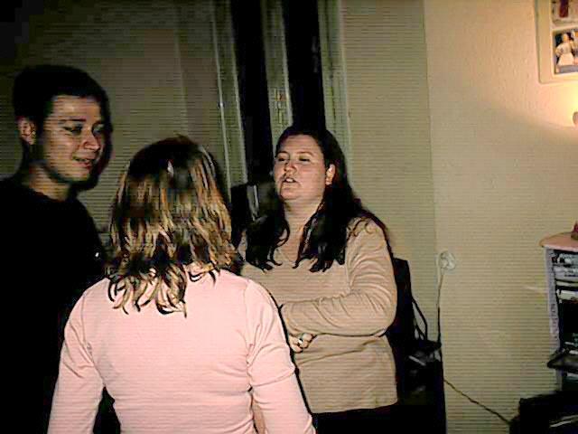 Luisa, Dani y Estrella