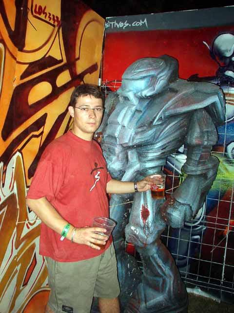 Dani y robot