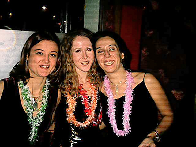 Pili, Susana y amiga