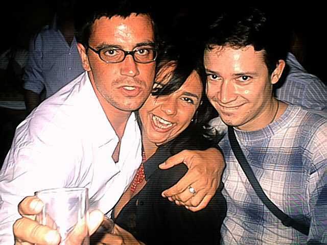 Puri, Dani y colega
