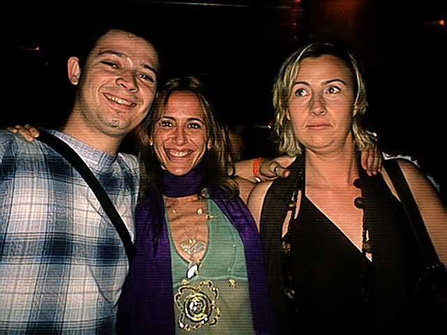 Dani, Marta y Rosa