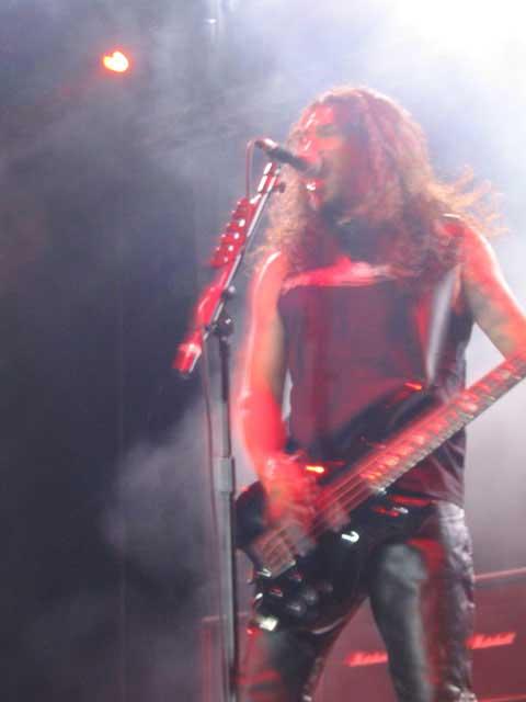 Concierto de Slayer