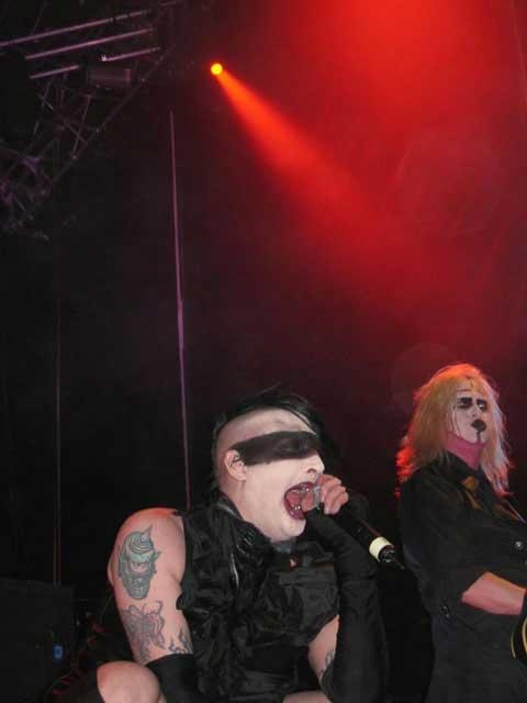 Concierto de Marilyn Manson
