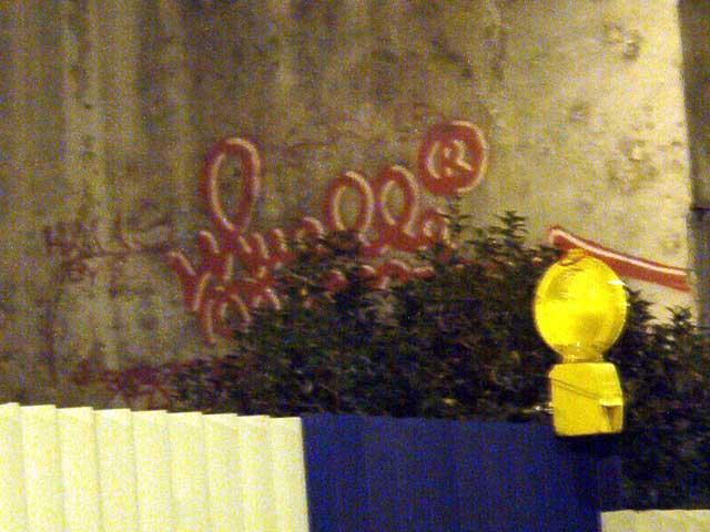 Graffiti de Muelle en Montera