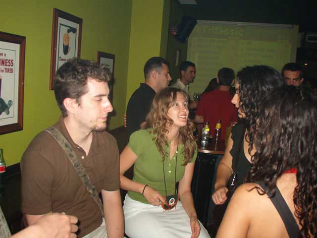 En un bar
