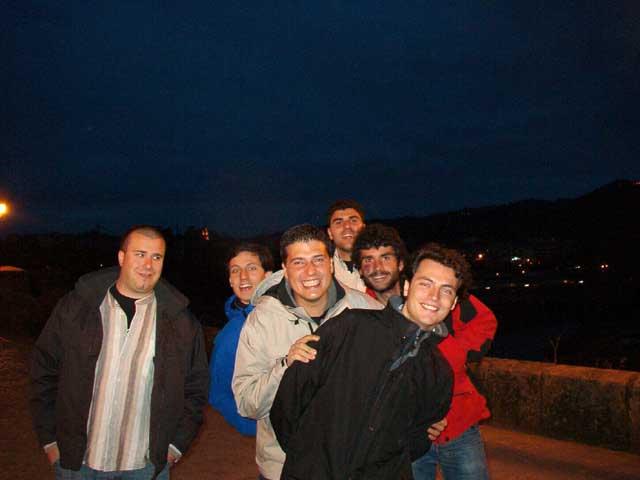 Llegada a Ourense